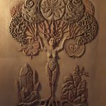 Earth Element Clay plaster 160 x 100 cm